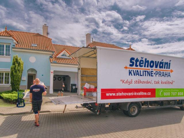 Stěhovaní s profesionály je Stěhování kvalitně