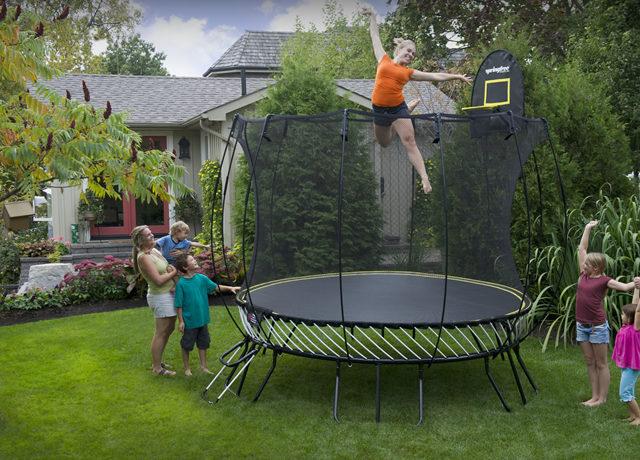 S ohledem na zdraví dětí je nutné vybírat bezpečné trampolíny
