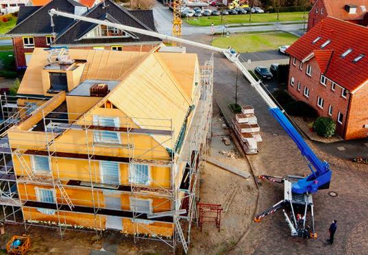 Při stavbě domu se neobejdete bez jeřábu. Jak ho získat?